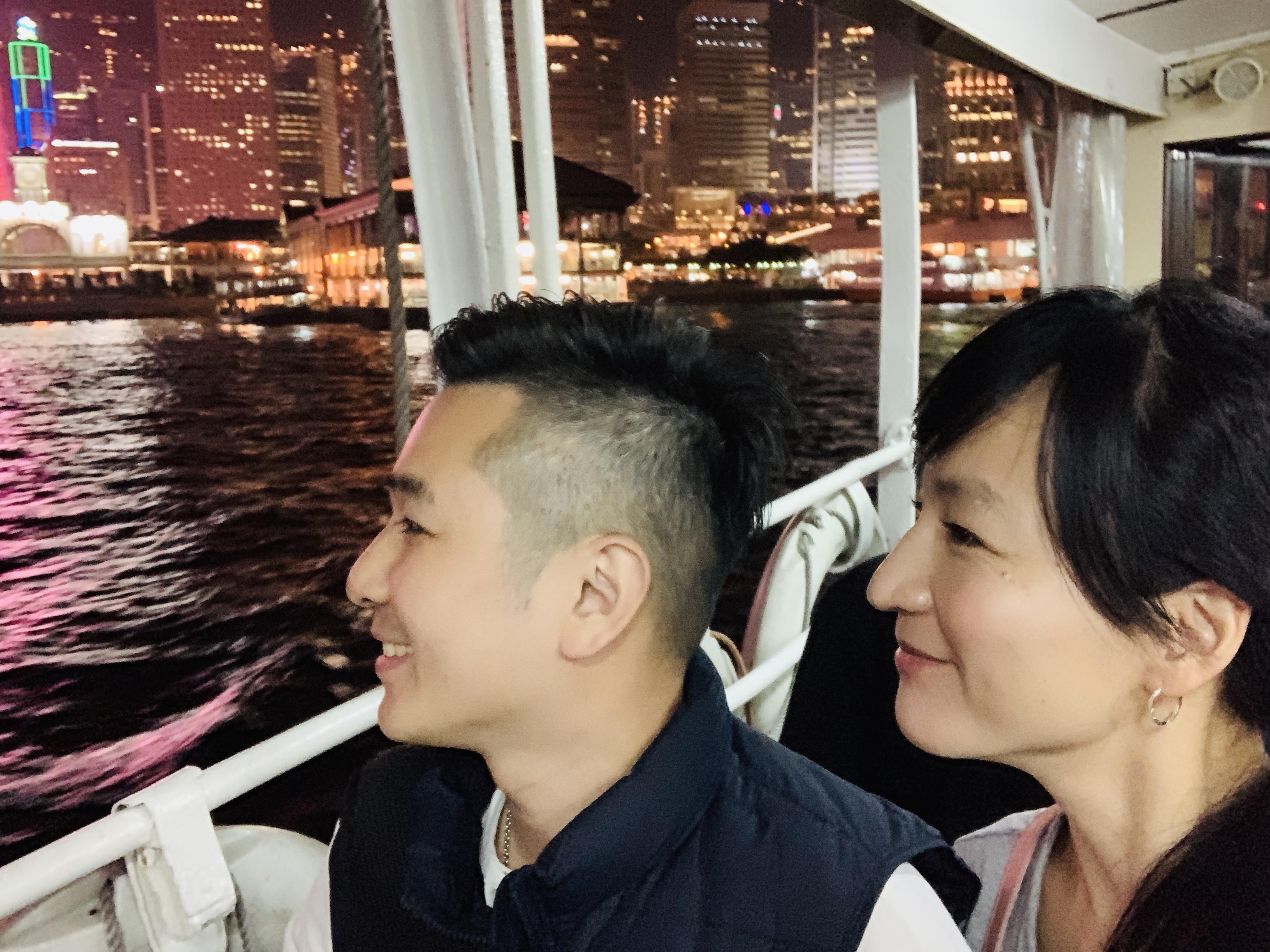 (香港小旅行)40歲開始夫妻同框