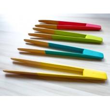 英國 pebbly 天然竹筷夾
