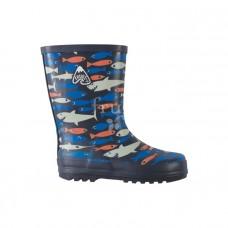 兒童雨鞋【Frugi鯊魚玩小魚】14cm-22.5cm