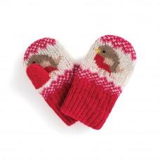 針織手套【知更鳥】