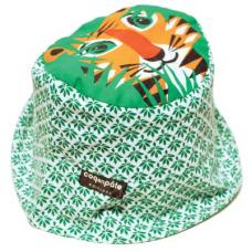法國COQENPATE / 夏日遮陽帽 (老虎)