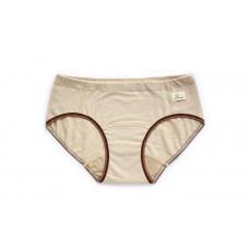 蜜貼生理褲-棕米條紋
