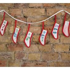 吊掛聖誕降臨曆-襪子版