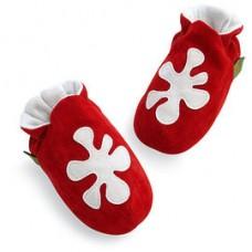 英國手工鞋-變形蟲red