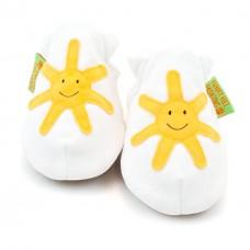 英國手工鞋-小太陽white