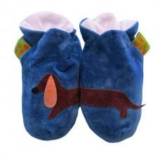 英國手工鞋-臘腸狗blue