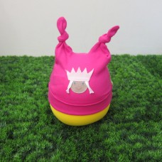 棉帽<桃紅公主>