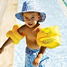 亮黃兒童手臂游泳浮圈〈15-30kg〉