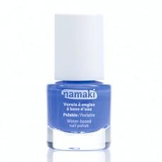 法國namaki 幼兒專用可撕式水性指甲油-海洋藍8