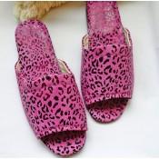 堡貝拖 / 真皮室內拖鞋 (11)